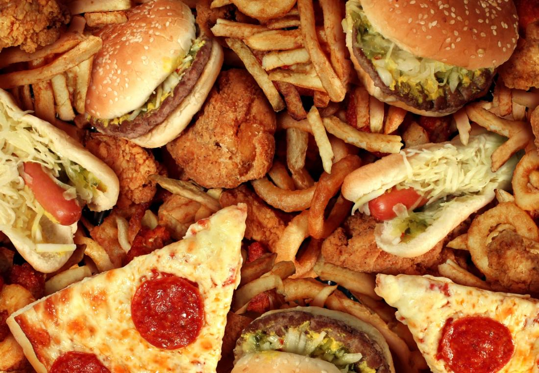 a-variety-of-fatty-foods